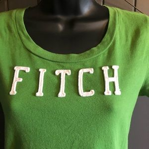 Abercrombie & Fitch Green Short Sleeve T-shirt